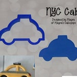 NYC Cab Cookie and Fondant Cutter