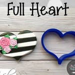 Full Heart Cookie and Fondant Cutter