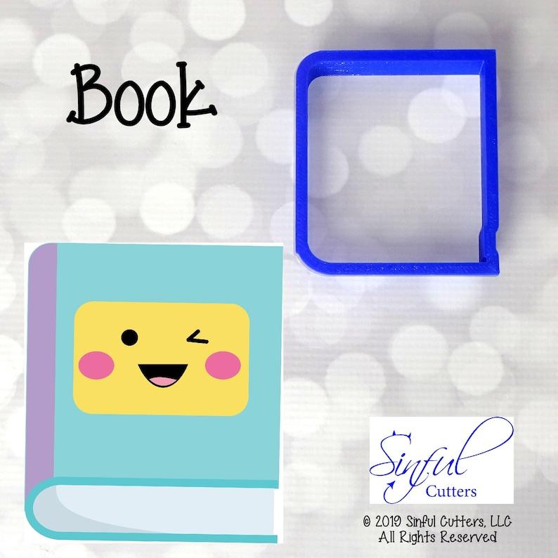 Book School Cookie / Fondant Cutter image 0