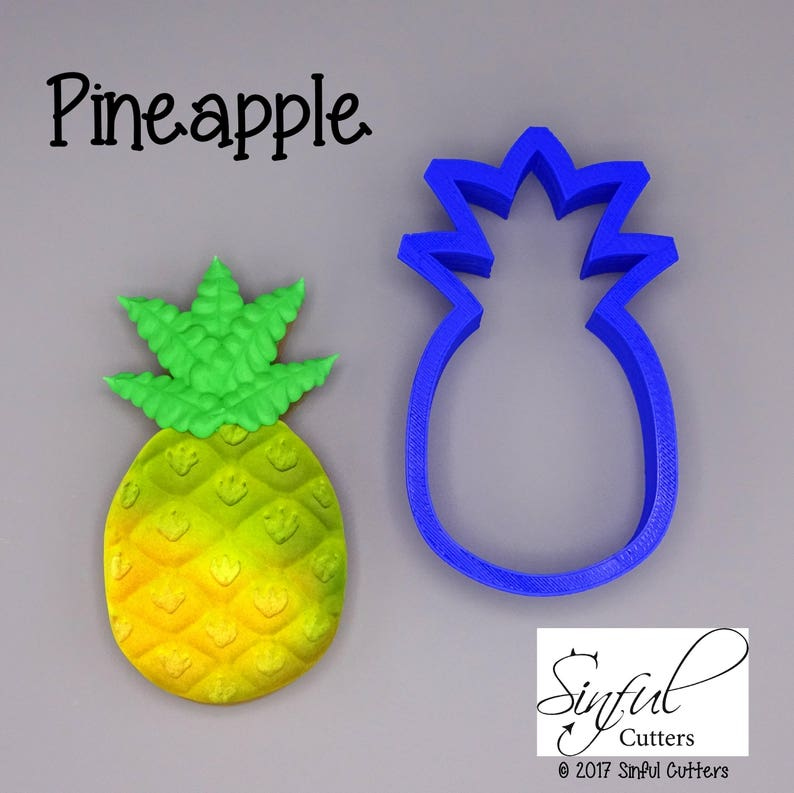Pineapple Cookie / Fondant Cutter image 0