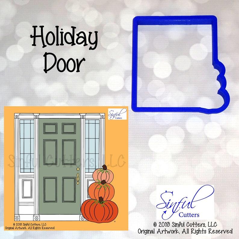 Holiday Door Cookie / Fondant Cutter image 0