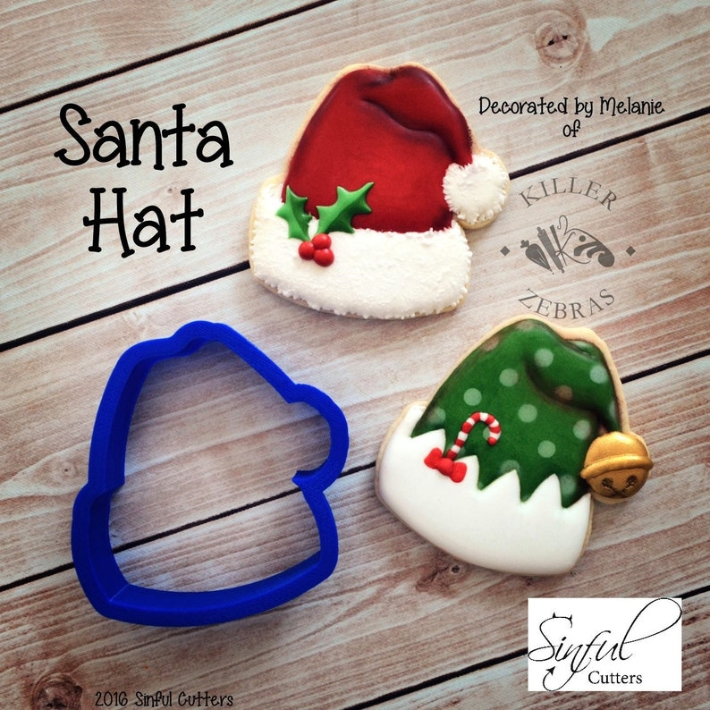 Santa Hat Cookie Cutter image 0