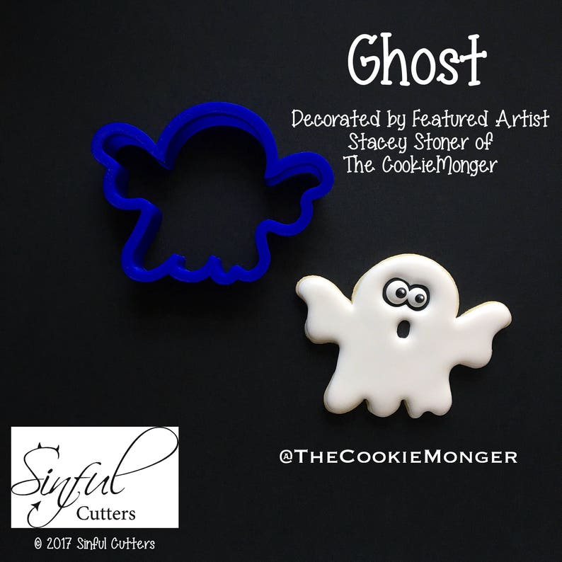 Ghost Cookie / Fondant Cutter image 0