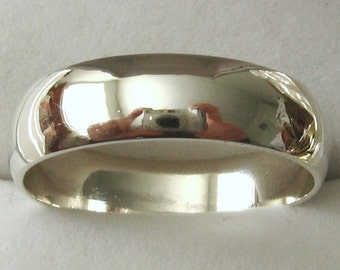 5 mm Genuine SOLID 925 Sterling Silver Unisex Wedding Band Ring  Sizes N/7 to Z+2/14