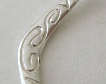 Genuine SOLID 925 STERLING SILVER 3D Australian Boomerang charm/pendant