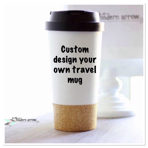 Coffee Glitter Custom To Go GiftLover Personalized MugReusable Travel Tc3FKl1J