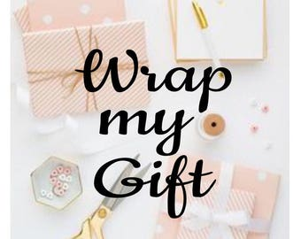 Wrap me, Gift Wrapping, Wrap my item, Christmas gift wrapping, Add a gift bag, Wrap my gift, Gift box, birthday gift wrap