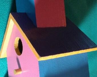 Birdhouse Acrylic on Wood