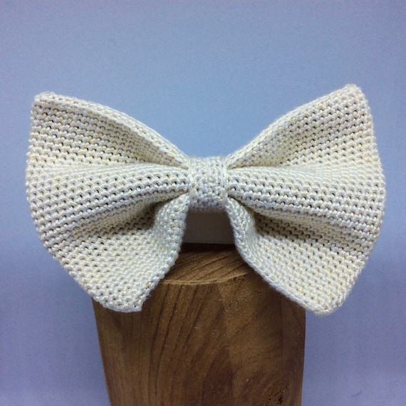 Knit fly, 100% silk, ivory/cream