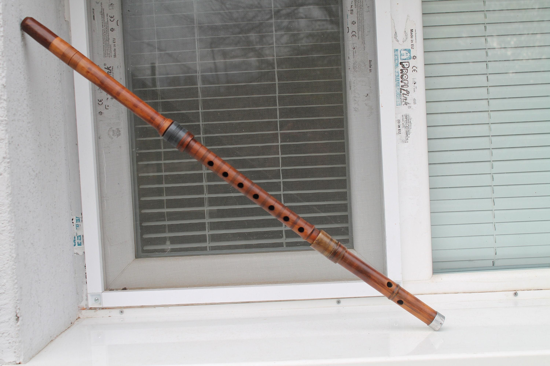 Ancien Ancien Ancien Instrument à vent bulgare des Balkans en bois Musical decd10