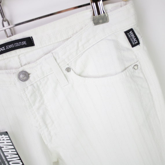 VERSACE JEANS COUTURE : White Jeans