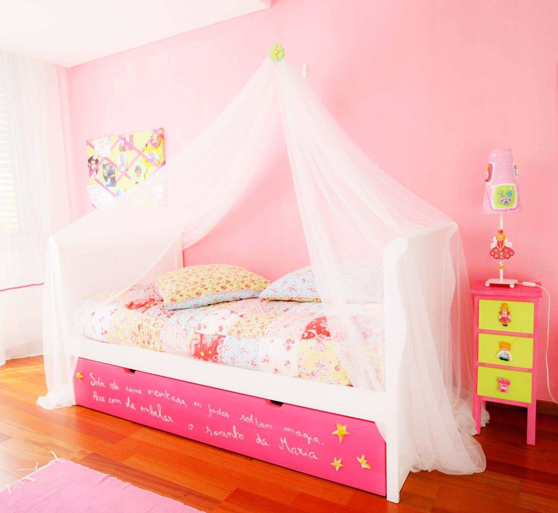 Pabellón de la cama de flor pabellón de la cama para niñas