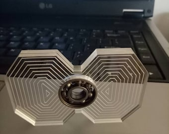 Phat Vector fidget spinner with bearing.
