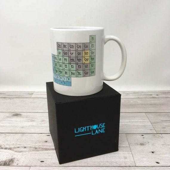 yorkshire periodic table mug