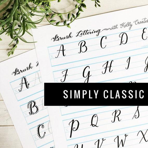 Großbuchstaben Sie Einfach klassisch | Etsy