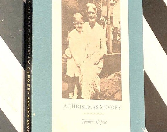 A Christmas Memory by Truman Capote (1956) hardcover book