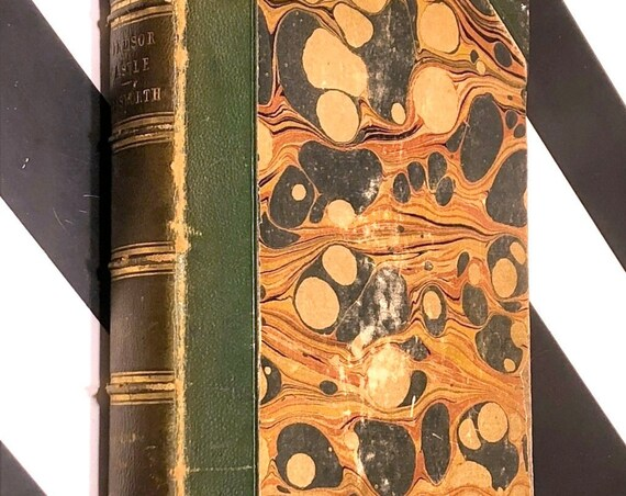 Windsor Castle by William Harrison Ainsworth (1844) hardcover book
