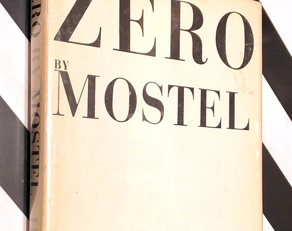 Zero by Mostel (1965) first edition book