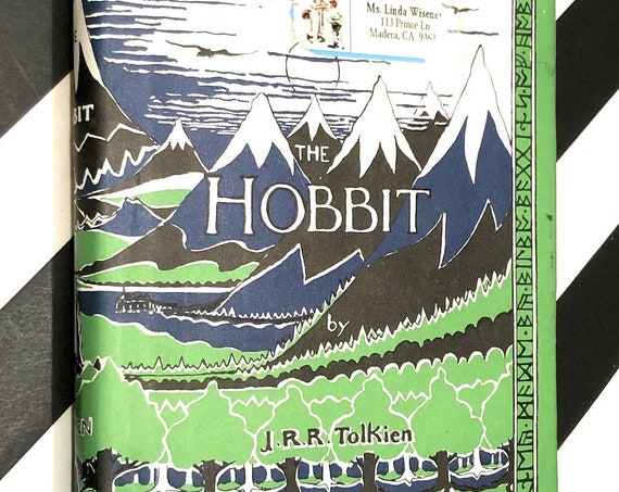 The Hobbit by J. R. R. Tolkien (hardcover book)