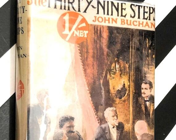 The Thirty-Nine Steps by John Buchan (1915) hardcover book