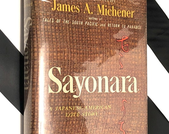 Sayonara by James Michener (1954) first edition book