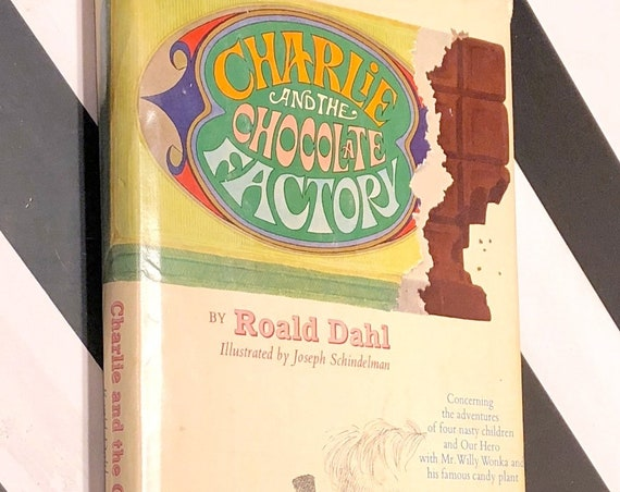 Charlie and the Chocolate Factory by Roald Dahl (1973) hardcover book