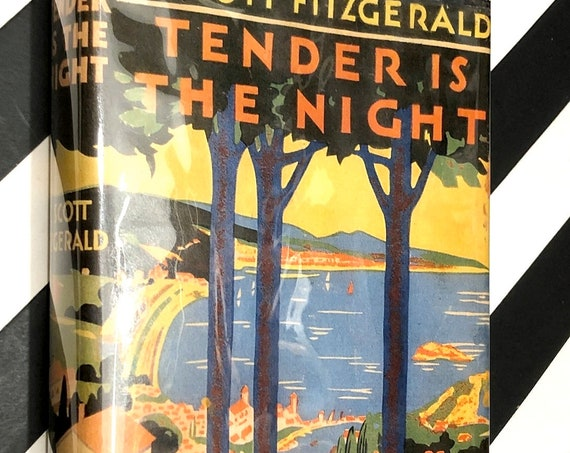 Tender is the Night by F. Scott Fitzgerald (1962) hardcover book