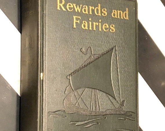 Rewards and Faeries by Rudyard Kipling (1927) hardcover book