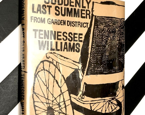 Suddenly Last Summer by Tennessee Williams (1958) hardcover book