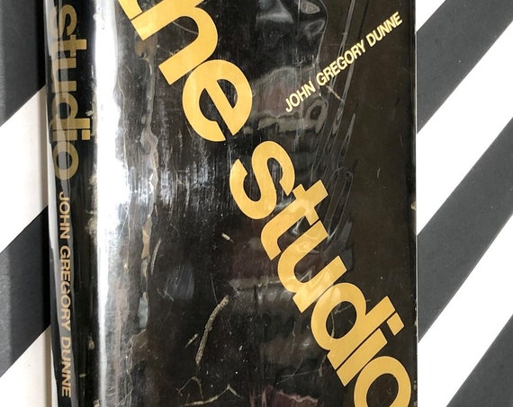 The Studio by John Gregory Dunne (1969) first edition book