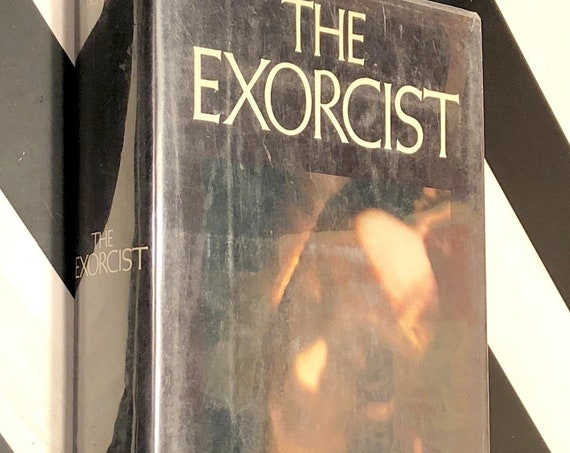 The Exorcist by William Peter Blatty (1971) hardcover book