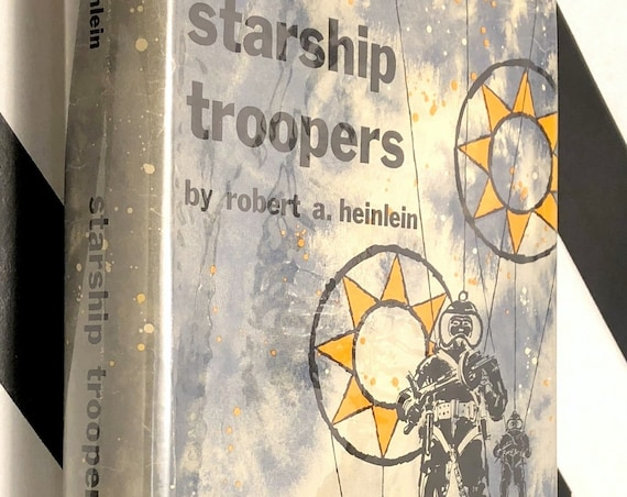 Starship Troopers by Robert Heinlein (1959) hardcover book