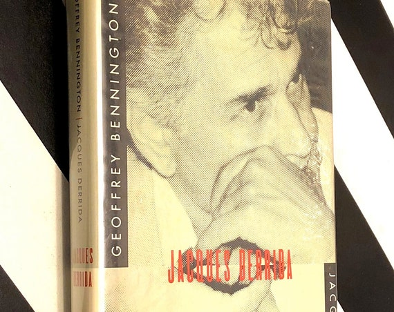 Jacques Derrida by Geoffrey Bennington (1993) first edition book