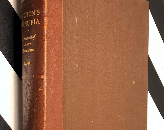 Philosophiæ Naturalis Principia Mathematica by Sir Isaac Newton (1934) hardcover book