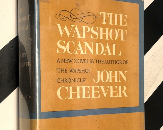 The Wapshot Scandal by John Cheever (1964) first edition book