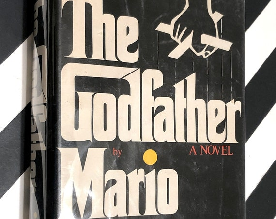The Godfather by Mario Puzo (1969) hardcover book