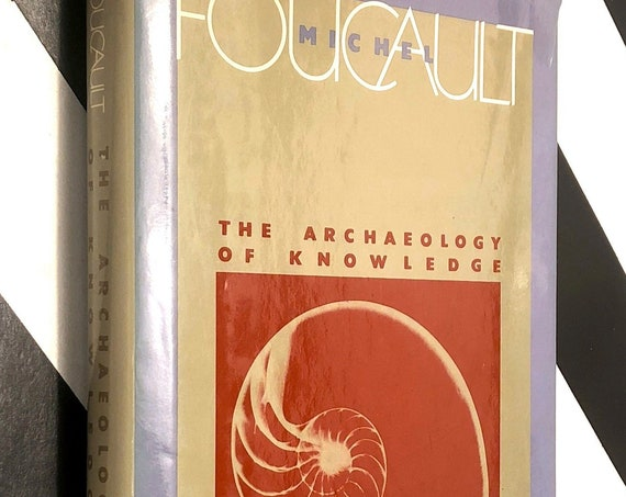 The Archaeology of Knowledge by Michel Foucault (1972) hardcover book