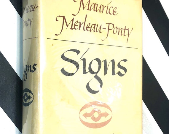 Signs by Maurice Merleau-Ponty (1964) first edition book