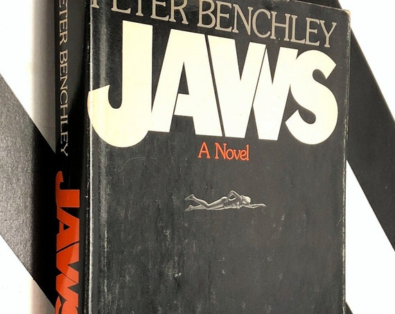 Jaws by Peter Benchley (1974) hardcover book