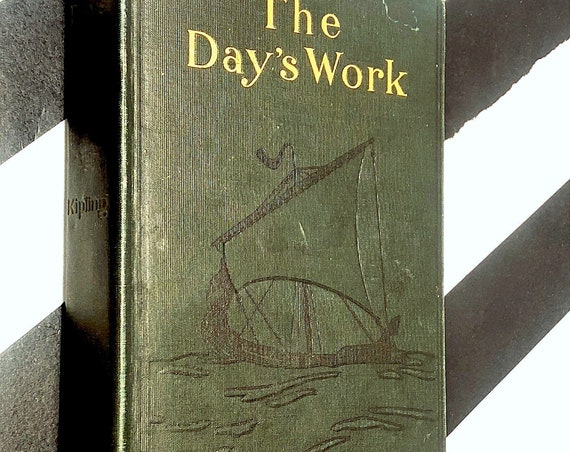 The Day's Work by Rudyard Kipling (1915) hardcover book