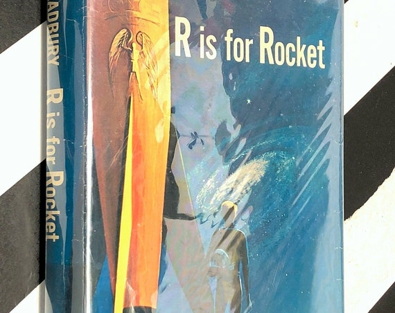 R is for Rocket by Ray Bradbury (1962) first edition book