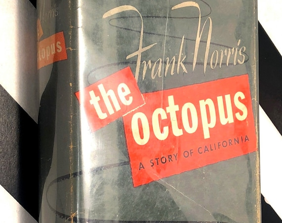 The Octopus by Frank Norris (1954) hardcover book