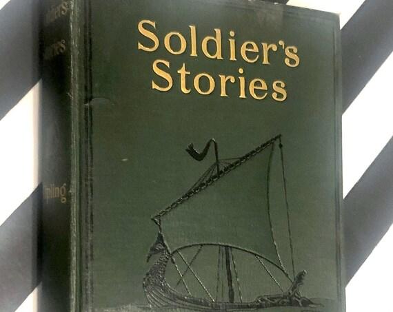 Soldier's Stories by Rudyard Kipling (1906) hardcover book