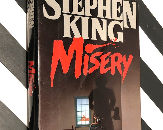 Misery by Stephen King (1987) hardcover first edition