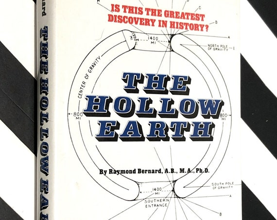 The Hollow Earth by Raymond Bernard (1979) hardcover book