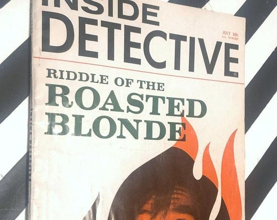 Inside Detective vintage magazine / July 1968