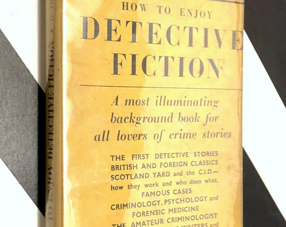How to Enjoy Detective Fiction by Gilbert Thomas (1947) first edition book
