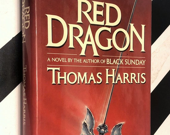 Red Dragon by Thomas Harris (1981) first edition book