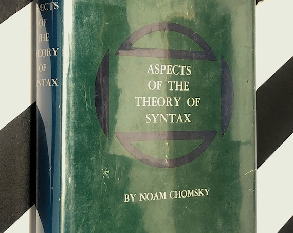 Aspects of the Theory of Syntax by Noam Chomsky (1965) first edition book