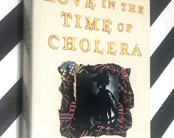 Love in the Time of Cholera by Gabriel Garcia Marquez (1988) hardcover book